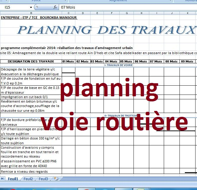 Exemple Planning Chantier Maison Individuelle Avie Home