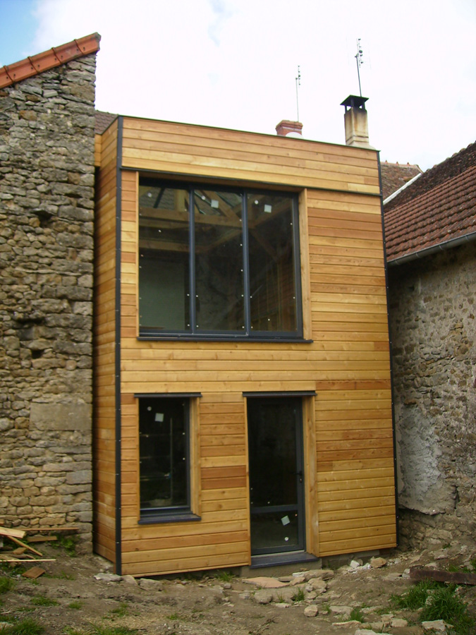 Extension Bois En Kit Maison Design Apsip Com