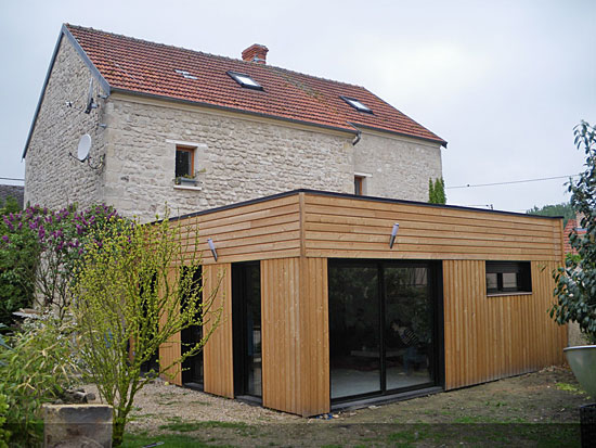 Extension De Maison En Bois Prix Au M2 Decorating Ideas