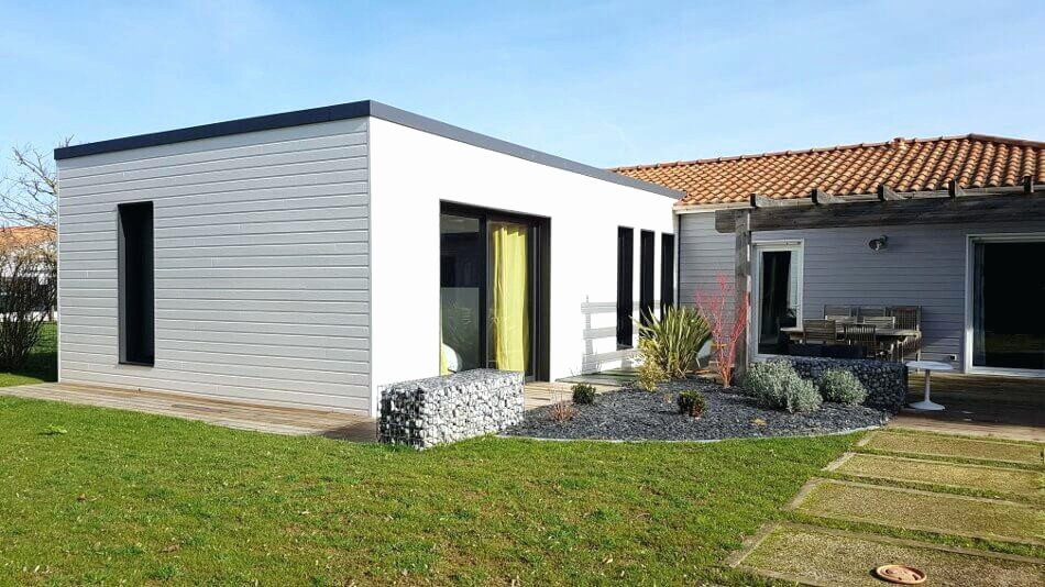 Extension De Maison En Bois Prix M2 Ossature Choosewell Co