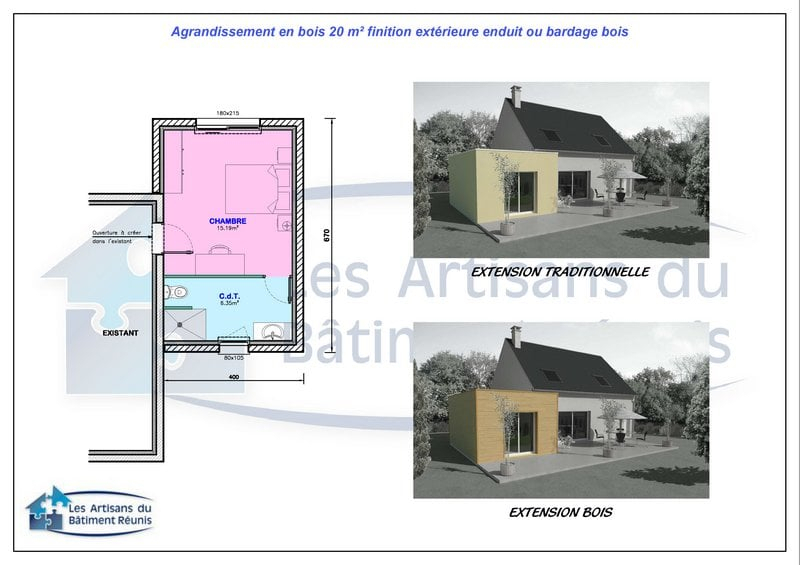 Extension De Maison Id E Agrandissement News
