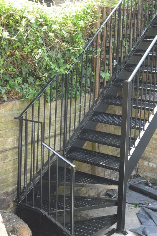 Exterior Steel Staircase London Escales Met L Liques Pinterest