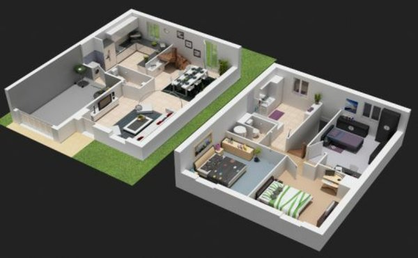 Faire Plan 3d Maison Design Apsip