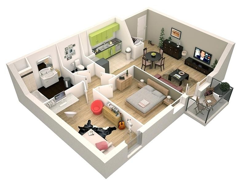Faire Plan Maison 3d Davidreed Co