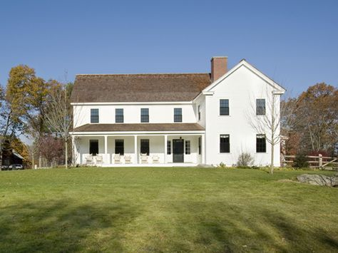 Farmhouse Situated On Over 30 Acres This New Home Incorporates