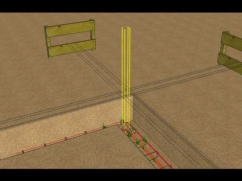 Ferraillage Fondations Explications En Images 3D YouTube