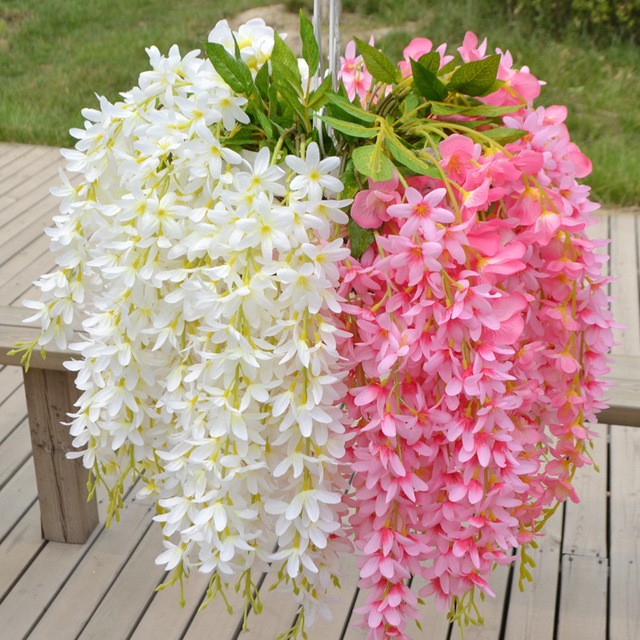 Flores Artificiales Para Decorar Venta Al Por Mayor Plantas Wisteria