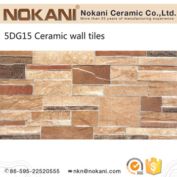 Full Body Exterior Wall Ceramic Tiles Culture Stone For Villa