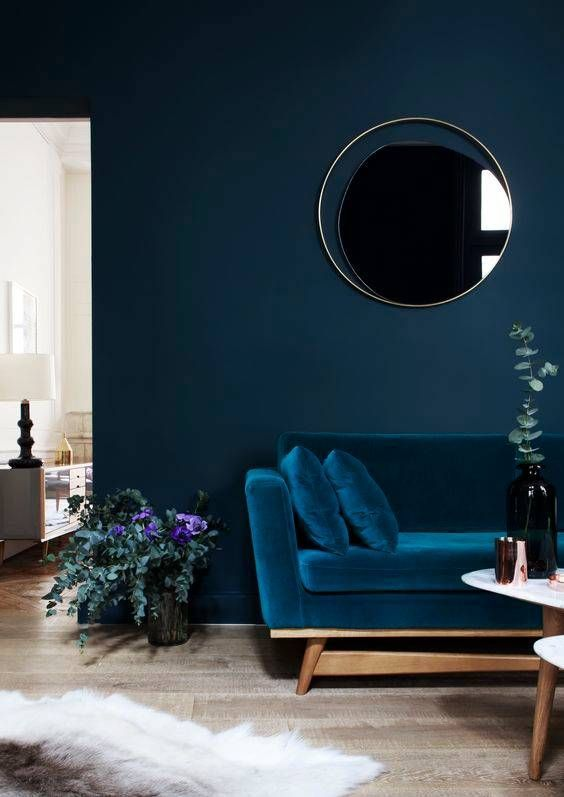 Get The Look With Dunn Edwards Paints Color In Dark Stormy DET572