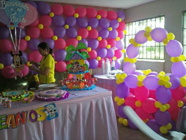 Globos Y Fiestas Finest Latest Decoracion Tinkerbell
