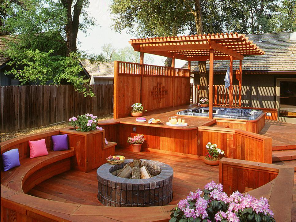 Gorgeous Decks And Patios With Hot Tubs DIY