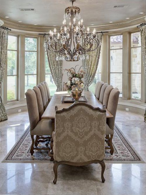 Gorgeous Dining Room Experience Pinterest