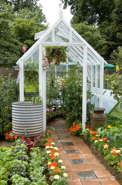 Greenhouse With Flagstones Greenhouses Orangeries And