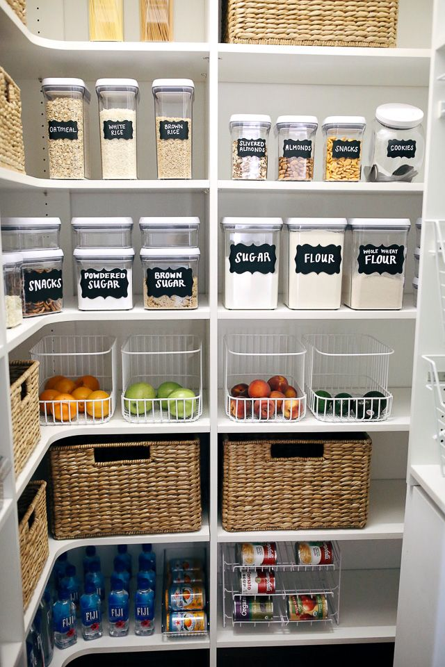 How I Organized My Pantry Despensa Cocinas Y Alacena