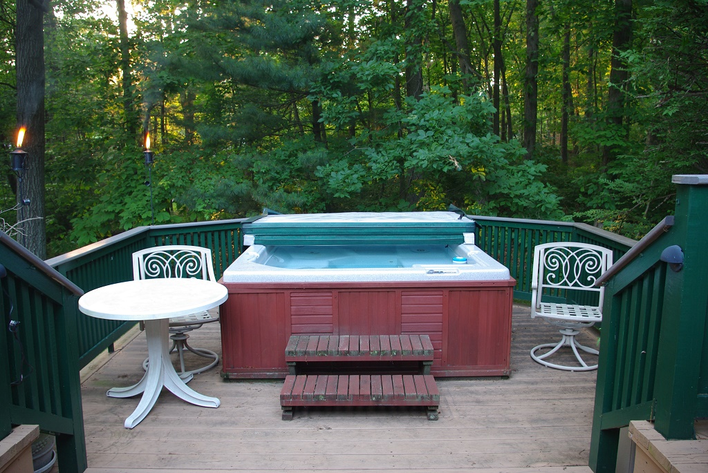 How Much Does A Hot Tub Weigh Preparing The Deck For