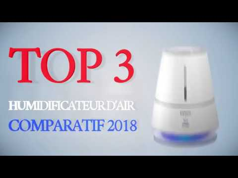 Humidificateur D Air Meilleur Comparatif 2018 TOP 3 YouTube