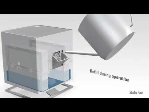 Humidificateur D Air Par Vaporation Oskar Stadler Form YouTube