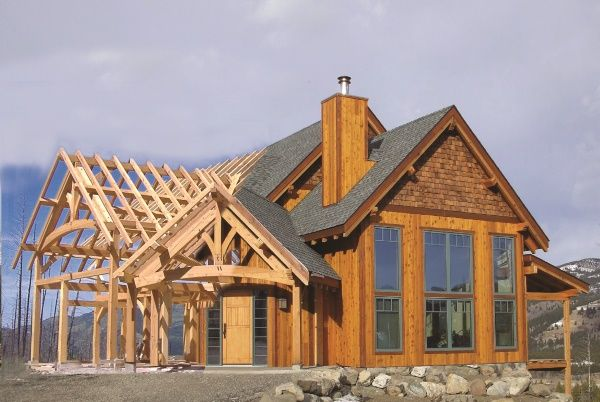 Hybrid Timber Frame Home Plans Hamill Creek Homes Ideas