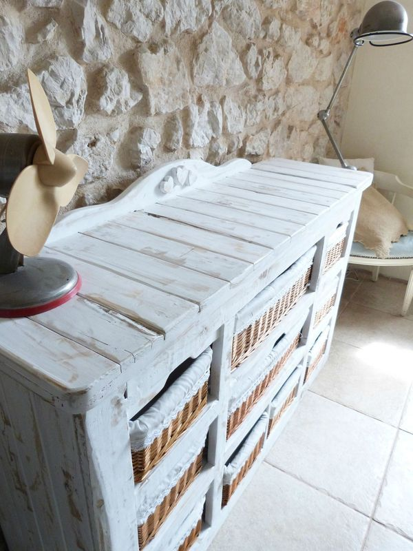 Ide Recyclage Palette Diy Pallet Trash Cabinet With