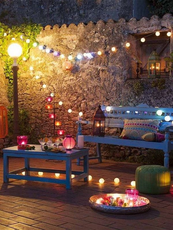 Ideas Coloridas Para Decorar Exteriores Patios Casa