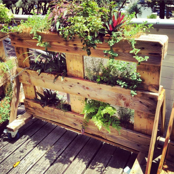 Ideas Con Palets Jardin Muebles De Diy