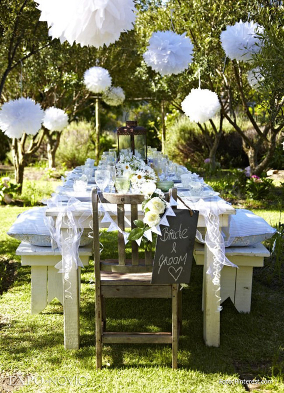 Ideas De Decoraci N Para Boda En Jard