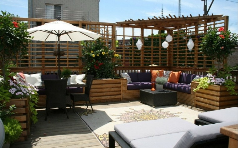 Ideas Originales Para Decorar La Terraza 50 Im Genes