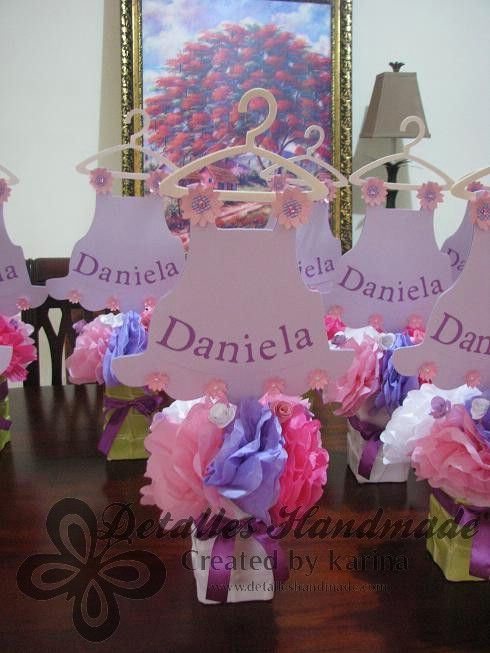 Ideas Para Centros De Mesa Baby Shower Sencillos Car