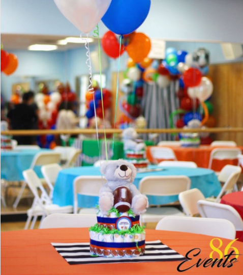 Ideas Para Centros De Mesas Baby Shower