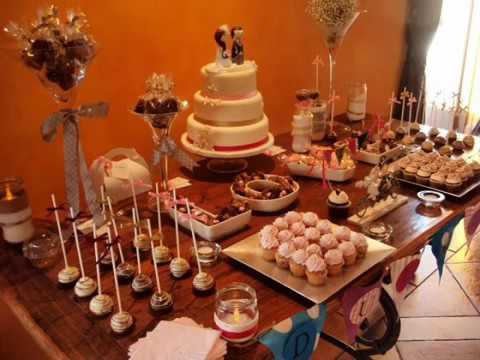 Ideas Para Decorar Tu Mesa De Dulces Bodas YouTube