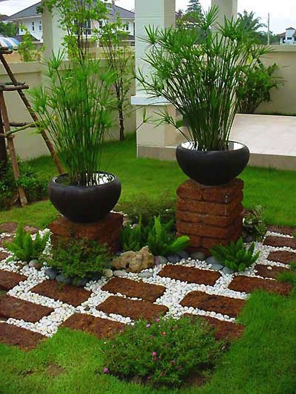 Ideas Para Decorar Un Jardin Organi