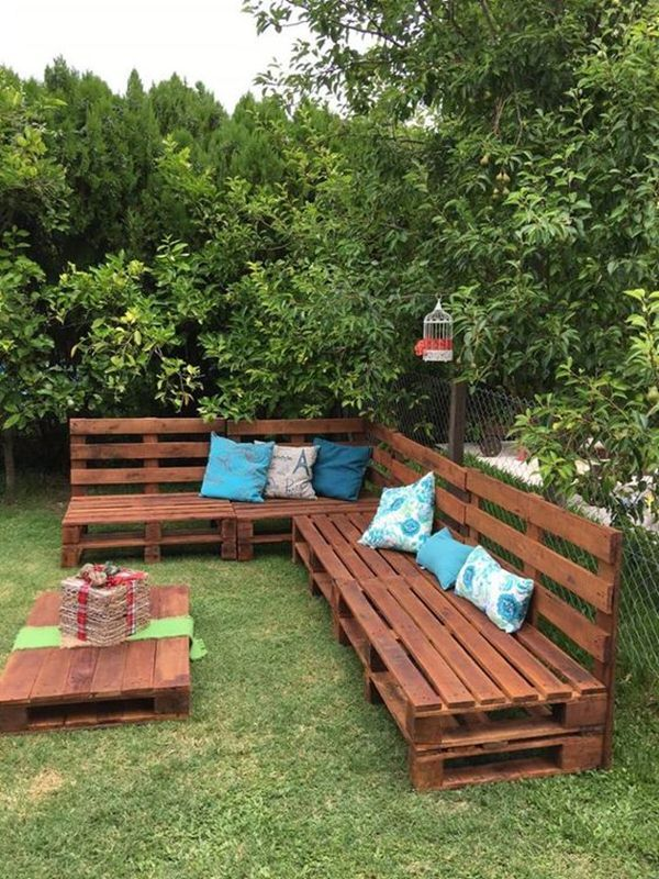 Ideas Para Exteriores Muebles De Pallets Pinterest Outdoor