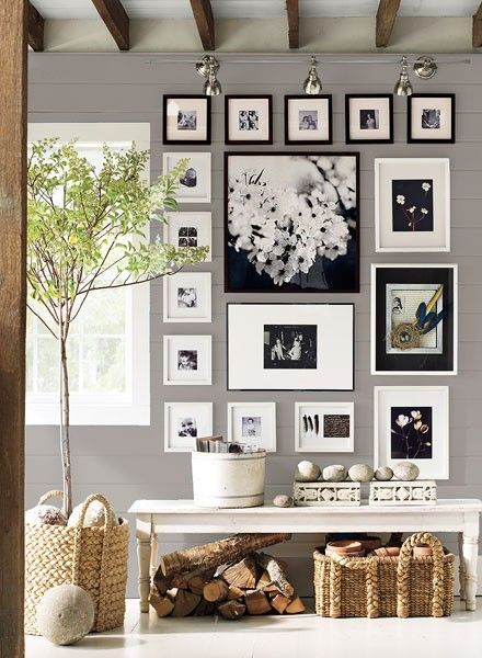 Ideas Para Organizar Cuadros En La Pared DECORACI N Pinterest