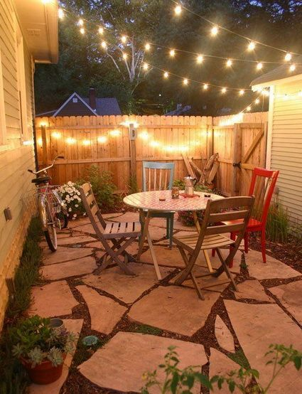Ideas Para Patios Peque Os Jardines Pinterest