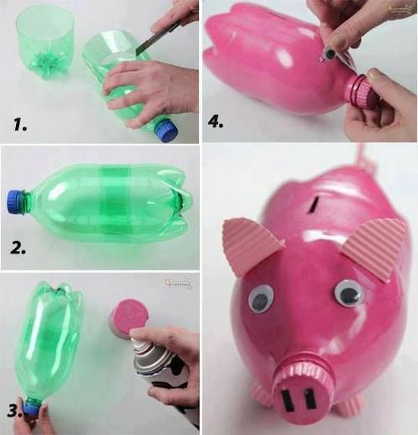 Ideas Para Reciclar Botellas De Pl Stico Diseno Casa