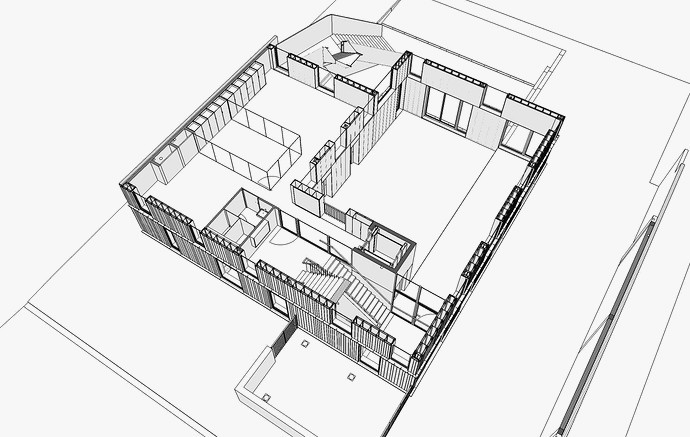 Import Floorplan Into Sketchup Inspirational Plan Maison Google