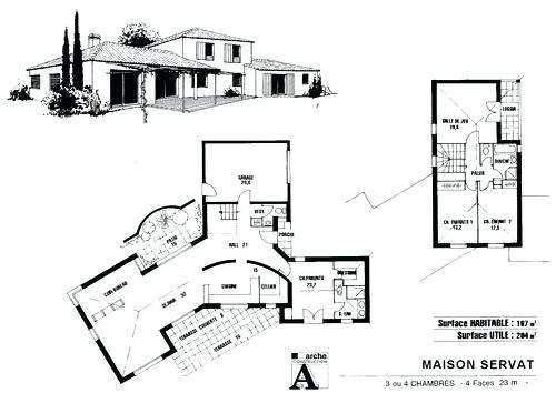 Incroyable Plan Maison D Architecte De Darchitecte
