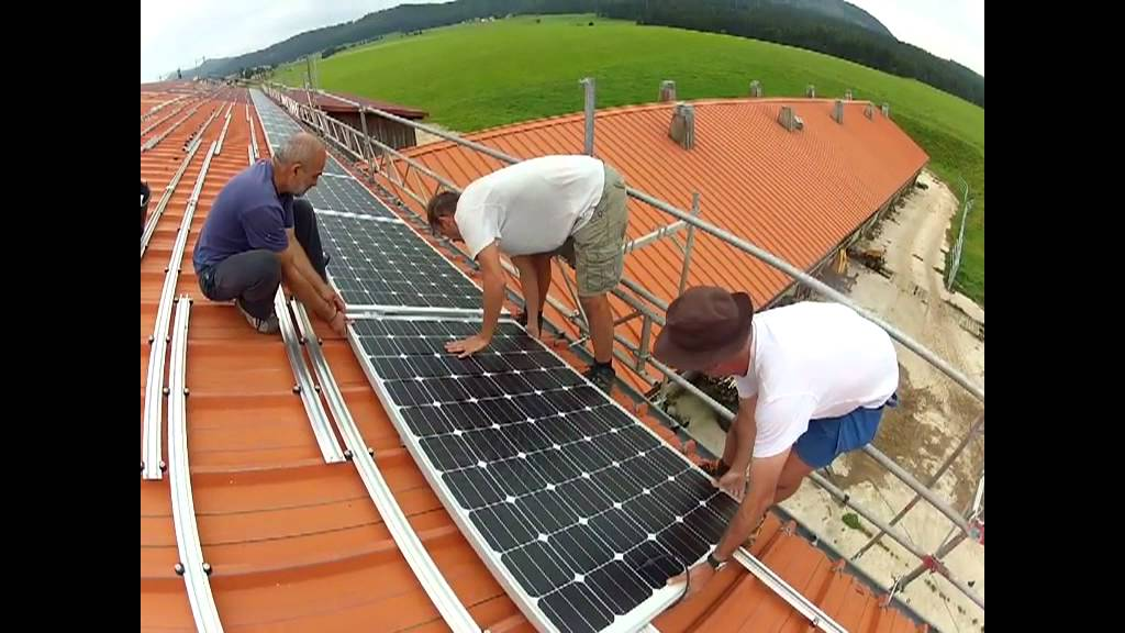 Installation Panneaux Solaires YouTube