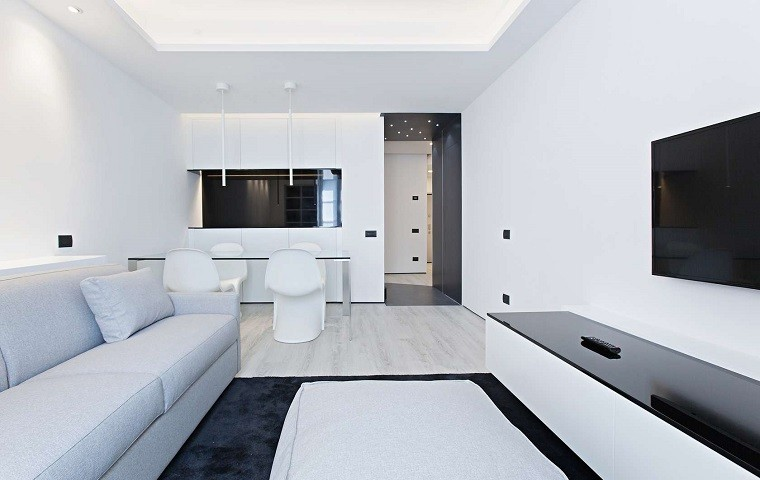 Interiores Blancos Decoraci N De Blanco Y Minimalista A1group Co