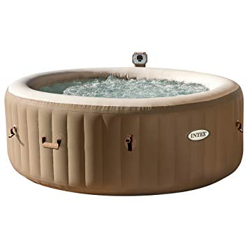 Intex Spa Hinchable Burbujas Crema 4 Personas 795