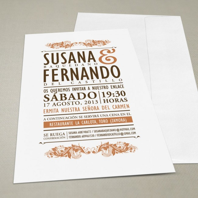 Invitaciones Vintage De Boda Para Una Ceremonia Retro A1group