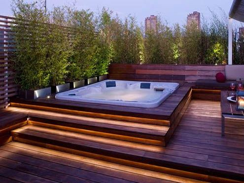 Jacuzzi Exterior 416 Best Outdoor Deck Hot Tub