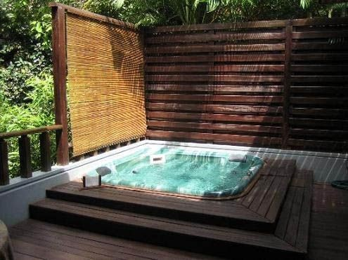 Jacuzzi Exterior Cincuenta Ideas Espectaculares Spa Madera A1group Co
