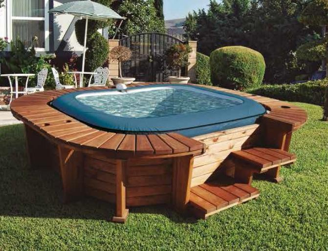 Jacuzzi Exterior Cincuenta Ideas Espectaculares Spa Madera A1group