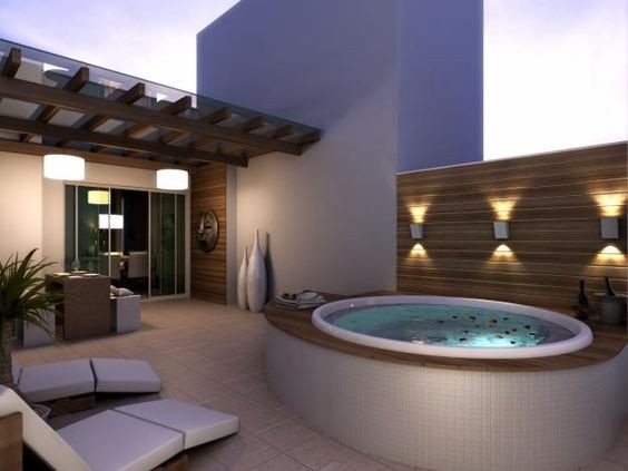 Jacuzzi Exterior En 10 Ideas Fabulosas Fotos De Estilo A1group Co