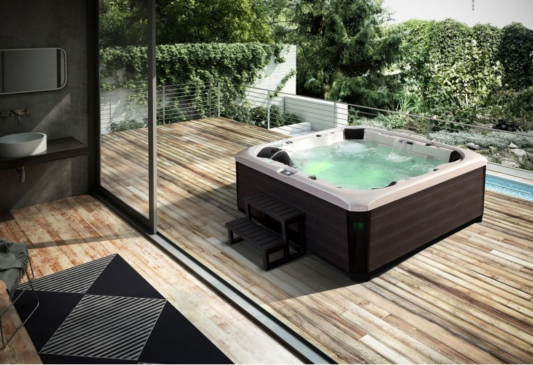 Jacuzzi Exterior Spa Hidromasaje De AU 002 Au A1group Co