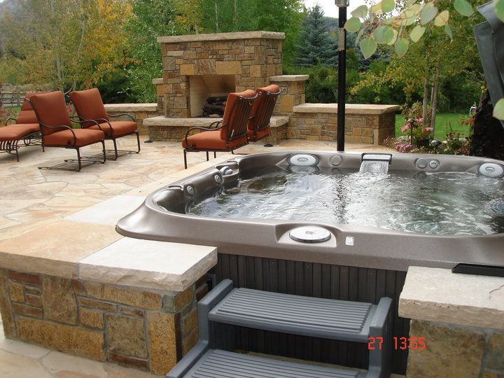 Jacuzzis Exteriores Good Interesting Awesome Jacuzzi Para Exterior