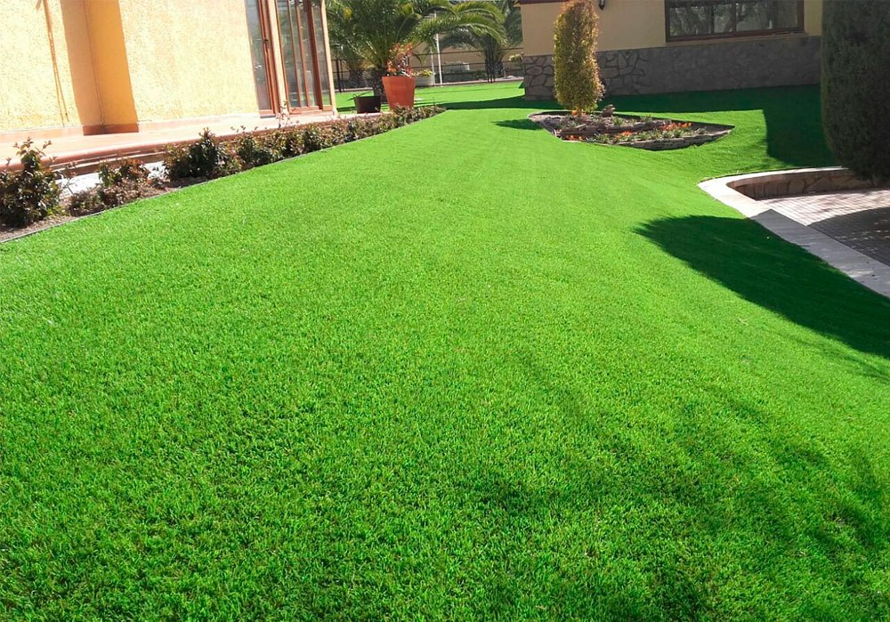 Jardines Con Cesped Artificial Best Golf En Csped