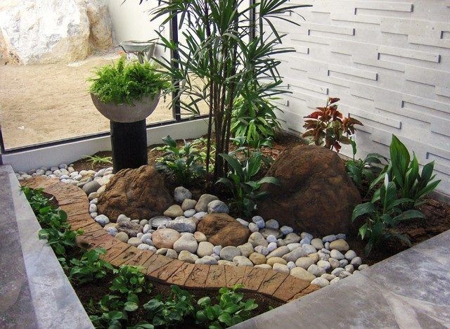 Jardines Decorados Con Piedras Rocas Y 20 Decoracion De A1group Co