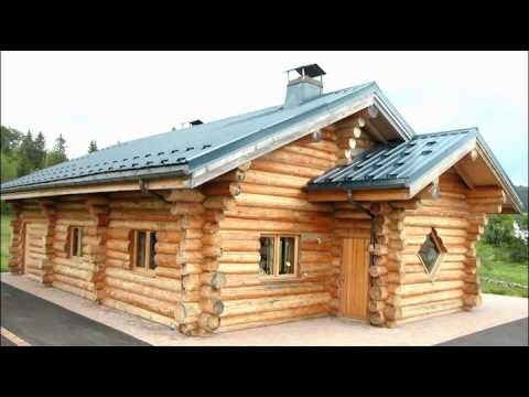 Kit De Maison En Bois Rond Fuste Chalet YouTube Hqdefault Ipsita Co